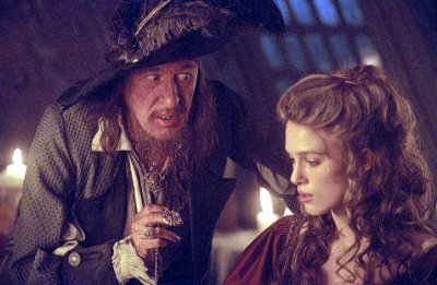 Pirates of the caribbean the curse of the black pearl dialogue script